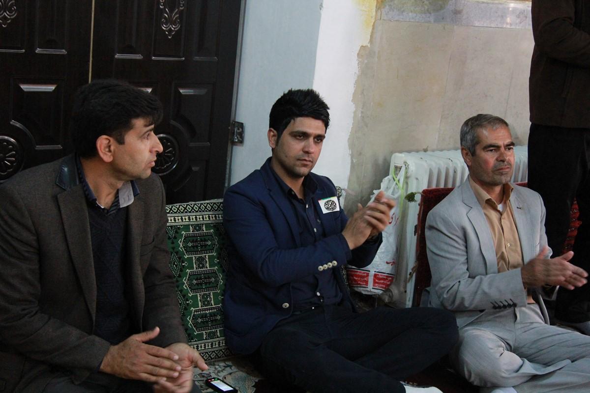 اجتماع باشکوه مردم بدره در حمایت از بهزاد علیزاده